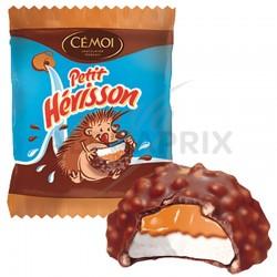 Hérissons Cémoi chocolat guimauve et caramel s/cello en stock