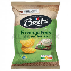 Chips Brets fromage frais et fines herbes 125g
