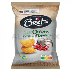 Chips Brets chèvre piment 125g