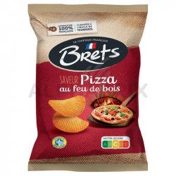 Chips Brets pizza 125g