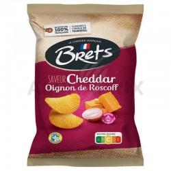 Chips Brets cheddar oignons De Roscof AOC 125g