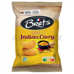 Chips Brets indien curry 125g