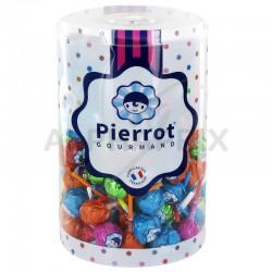 Sucettes Boules fruits et cola Pierrot Gourmand en stock
