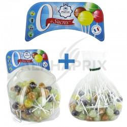 Colis sucettes assorties s/sucres Pierrot Gourmand en stock