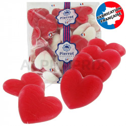 Coeurs lisses géants kg Pierrot Gourmand en stock