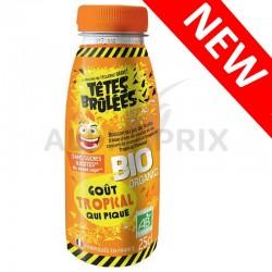 Têtes Brûlées Boissons Bio Tropical PET 25cl en stock