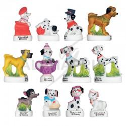 FEVES Les Dalmatiens - modèles assortis en stock