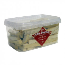 Pâtes grises vanillées Auzier - tubo de 100 lanières en stock