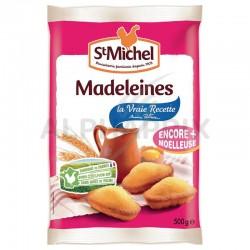 Madeleines aux oeufs frais 500g St Michel