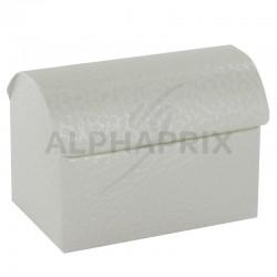 Coffres Luxe BLANC par 10 en stock