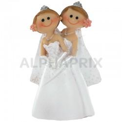 Femmes en couple PM H. 10cm en stock