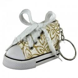 Basket porte-clefs Arabesques OR en stock