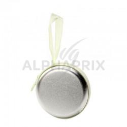 Porte monnaie en métal Argent en stock