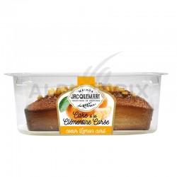 Cake à la clementine de corse coeur citron 300g en stock