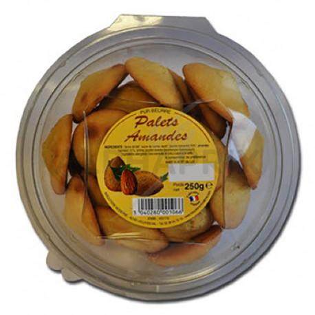 Palets pur beurre amandes boîte 250 g