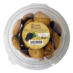 Palets pur beurre raisins boîte 250 g en stock