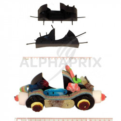 Carton supports cabriolet + poches polypro par 30 en stock