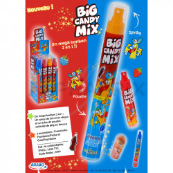 Big Candy Mix 2 en 1 (bonbon + spray 50 ml)