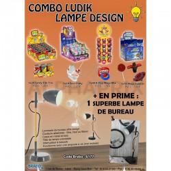 Combo ludik Lampe Design en stock