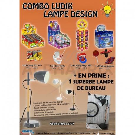 Combo ludik Lampe Design