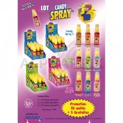 Lot Candy Spray 55+5