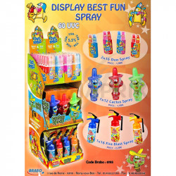 Display Best Fun Spray 60 uvc en stock