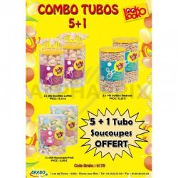 Combo Tubos Look o Look 5+1