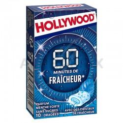 Hollywood 60 minutes de Fraîcheur Menthe Forte s/sucres en stock