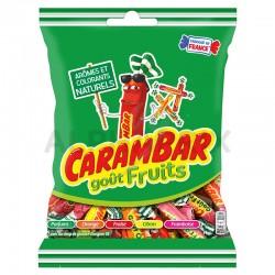 Carambar sachets goût fruits 130g