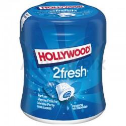 Bottle 40 dragées 2fresh menthe fraîche s/sucres Hollywood en stock