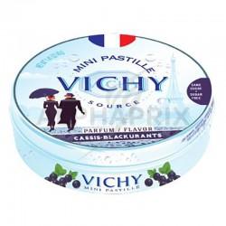 Vichy boîte métal cassis 40g en stock
