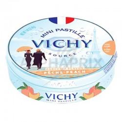 Vichy boîte métal pêche 40g en stock