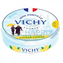 Vichy boîte métal citron 40g en stock
