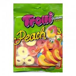 Sachet 100g peach'os (rondelle pêche) Trolli en stock
