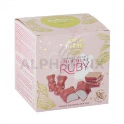 Ballotin 170g oursons guimauve chocolat ruby en stock