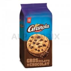 Granola extra cookies chocolat 184g en stock