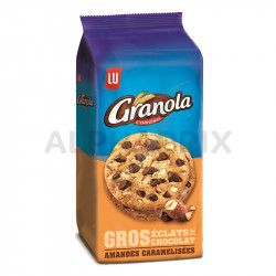 Granola extra cookies amandes 184g
