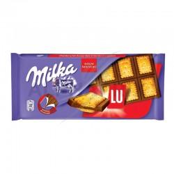 ~Milka LU 87g en stock