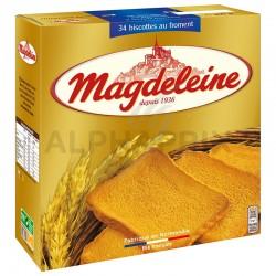Magdeleine biscottes 34T au froment 300g en stock