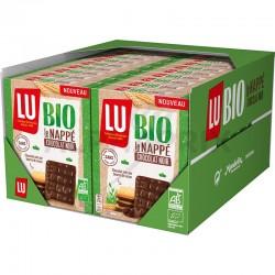 ~Le nappé chocolat noir bio 120g Lu en stock