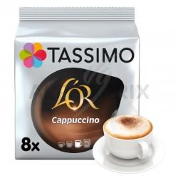 Tassimo l'Or Cappuccino 267g (8+8T) en stock