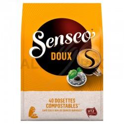 Senseo doux 40 dosettes 277g en stock