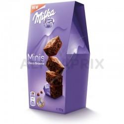 Milka mini cakes brownie 117g en stock
