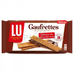 Gaufrettes Lu chocolat noir 92g