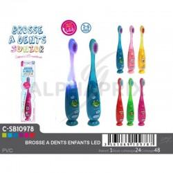Brosse à dents enfant led en stock