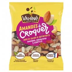Amandes à croquer sachets 35g noix cajou Vahiné