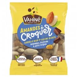 Amandes à croquer sachets 35g choco raisin Vahiné