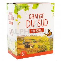 Bib 5L vin rouge Grange du Sud VPCE