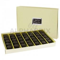 Boules crème et chocolat noir - boîte de 500g