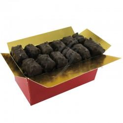 Malakoffs noir pâte d amande pistache - ballotin 250g